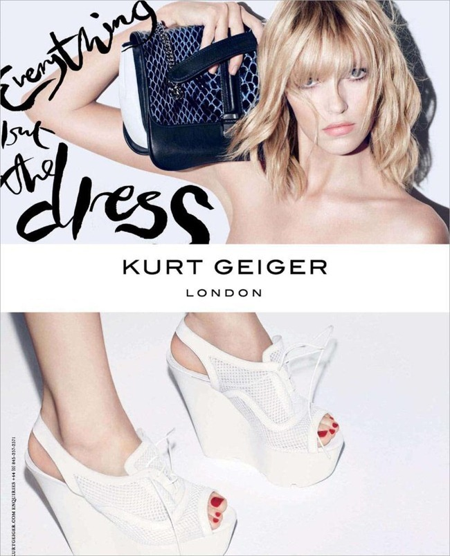 CAMPAIGN- Anja Rubik for Kurt Geiger London Spring 2013 by Sarah Richardson. www.imageamplified.com, Image Amplified (6)
