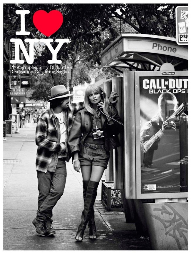 VOGUE PARIS- Tony Ward & Natasha Poly in I Love NY by Terry Richardson. Fegarline Saglio, February 2013, www.imageamplified.com, Image Amplified (1)