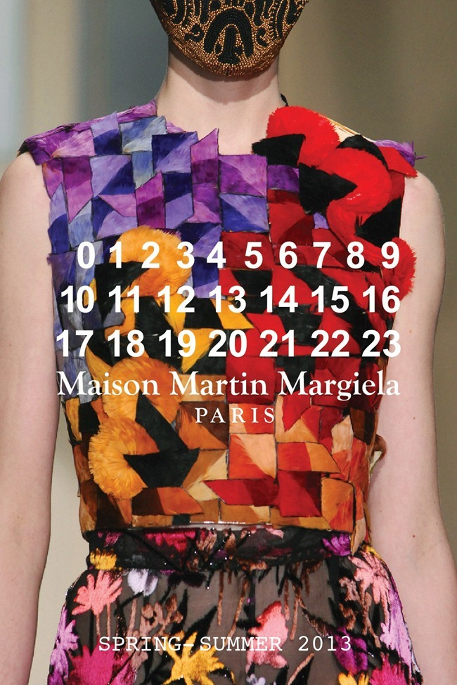 PARIS HAUTE COUTURE- Maison Martin Margiela Artisanal Spring 2013. www.imageamplified.com, Image Amplified