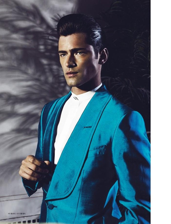 L'OFFICIEL HOMMES KOREA- Sean O'Pry in Color of Spring by Renie Saliba. Katie Burnett, February 2013, www.imageamplified.com, Image Amplified (5)
