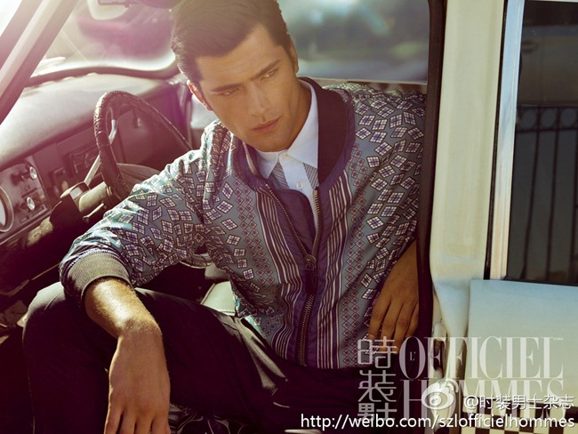 FASHION PHOTOGRAPHY- Sean O'Pry for L'Officiel Hommes China, January 2013, www.imageamplified.com, Image Amplified (4)