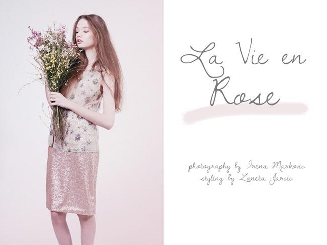FASHION PHOTOGRAPHY- La Vie en Rose by Irena Markovic. Zaneta Jarcic, www.imageamplified.com, Image Amplified