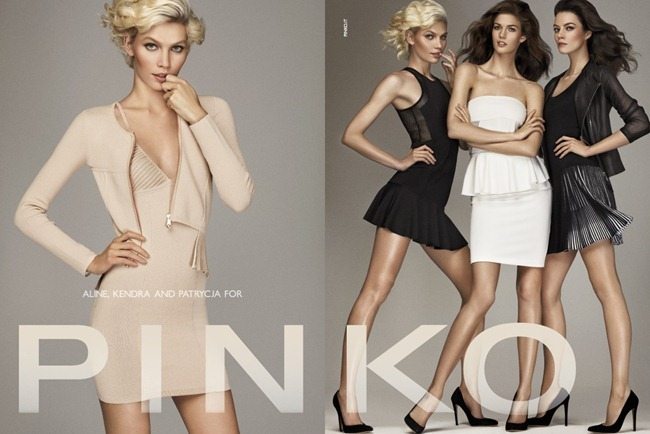 CAMPAIGN- Kendra Spears, Aline Weber & Patrycja Gardygaljlo for Pinko Spring 2013 by Giampaolo Sgura. www.imageamplified.com, Image Amplified