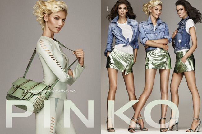 CAMPAIGN- Kendra Spears, Aline Weber & Patrycja Gardygaljlo for Pinko Spring 2013 by Giampaolo Sgura. www.imageamplified.com, Image Amplified (2)