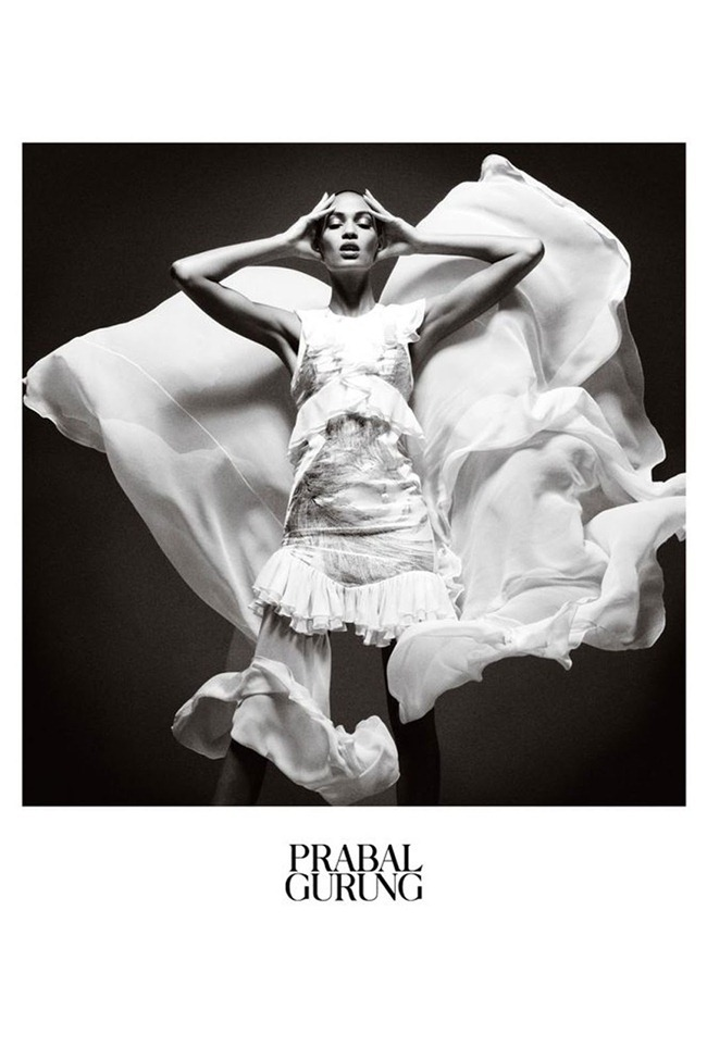CAMPAIGN- Joan Smalls for Prabal Gurung Spring 2013. www.imageamplified.com, Image Amplified (3)