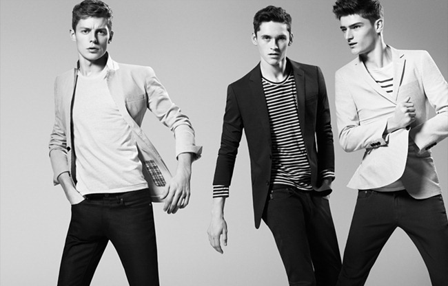 CAMPAIGN- Anders Hayward, Alexander Beck & Janis Ancens for Burberry Black Label Spring 2013. www.imageamplified.com, Image Amplified (1)