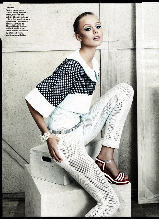 ALLURE MAGAZINE- Frida Gustavsson in Checks & Balances by Norman Jean Roy. Siobhan Bonnouvrier, January 2013, www.imageamplified.com, Image Amplified (2)