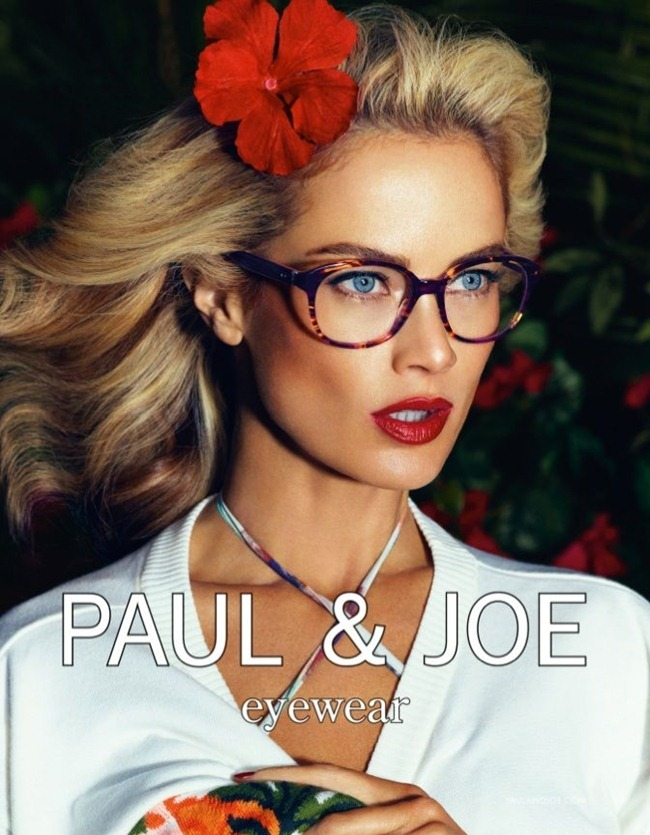 CAMPAIGN- Carolyn Murphy & Shaun DeWet for Paul & Joe Spring 2013 by Mikael Jansson. Karl Templer, www.imageamplified.com, Image Amplified (4)