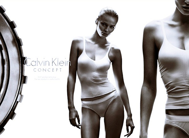 CAMPAIGN- Edita Vilkeviciute & Matthew Terry for Calvin Klein Concept Spring 2013 by Stevne Klein. Fabien Baron, www.imageamplified.com, Image Amplified