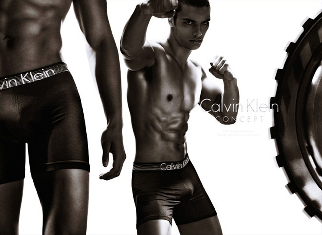 CAMPAIGN- Edita Vilkeviciute & Matthew Terry for Calvin Klein Concept Spring 2013 by Stevne Klein. Fabien Baron, www.imageamplified.com, Image Amplified (4)