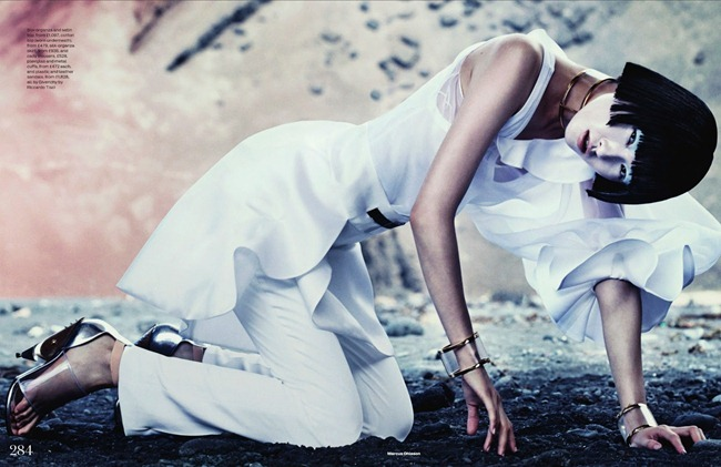 ELLE UK- Wang Xiao in New Frontiers by Marcus Ohlsson. Anne-Marie Curtis, March 2013, www.imageamplified.com, Image Amplified (5)