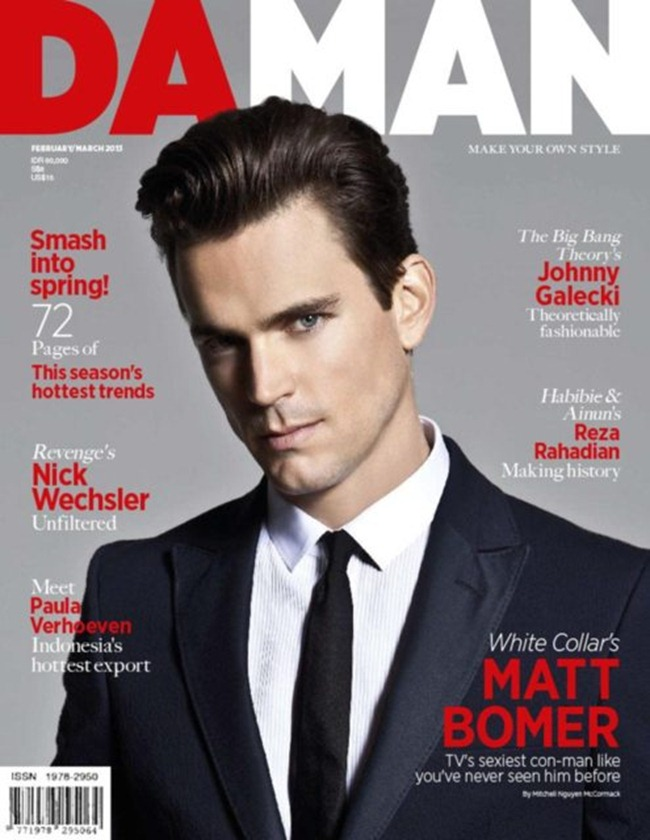 DAMAN MAGAZINE- Matt Bomer in Hot Under The Collar by Mitchell Nguyen McCormack. March 2013, www.imageamplified.com, Image Amplified