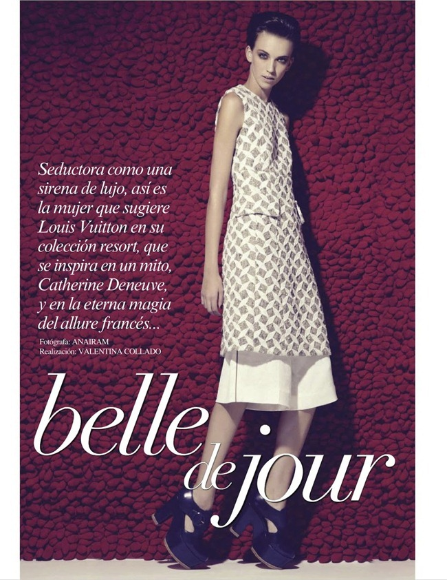 VOGUE MEXICO- Emi in Belle de Jour by Anairam. Valentina Collado, February 2013, www.imageamplified.com, Image Amplified
