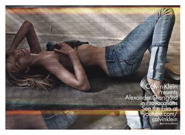 CAMPAIGN- Alexander Skarsgard & Suvi Koponen for Calvin Klein Jeans Spring 2013 by Fabien Baron. www.imageamplified.com, Image Amplified (2)
