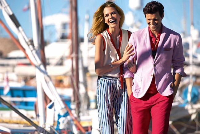 CAMPAIGN- Sasha Knezevic, Rodrigo Calazans & Michaela for Faconnable Spring 2013. www.imageamplicied.com, Image Amplified