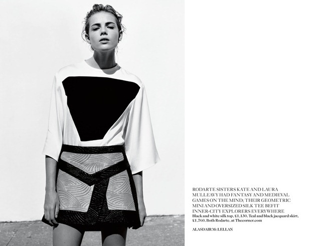 VOGUE UK- Rosie Tapner in In Glorious Mono by Alasdair Mclellan. Francesca Burns, March 2013, www.imageamplified.com, Image Amplified (8)