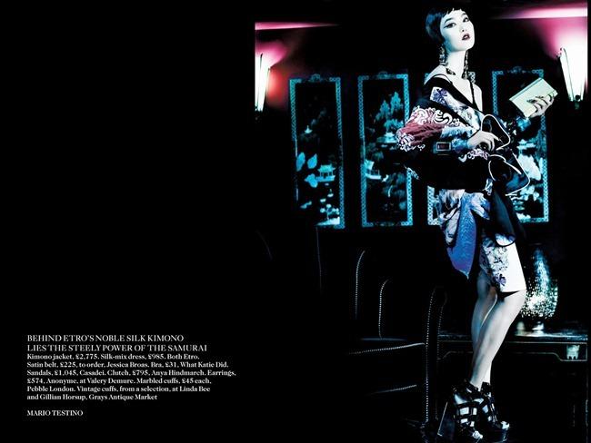 VOGUE UK- Sui He, Sung Hee Kim, Ji Hye Park & Fei Fei Sun in Orient Express by Mario Testino. Lucinda Chambers, March 2013, www.imageamplified.com, Image Amplified (2)