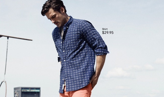 CAMPAIGN- Sam Webb in A Touch of Blue for H&M Spring 2013. www.imageamplified.com, Image Amplified (7)