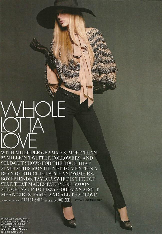 ELLE MAGAZINE- Taylor Swift in Whole Lotta Love by Carter Smith. Joe Zee. www.imageamplified.com, Image Amplified