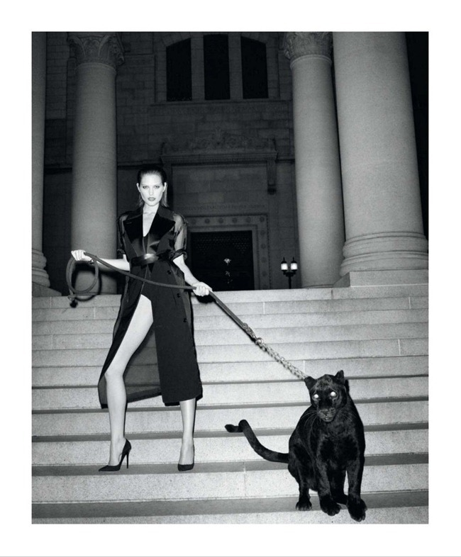 HARPER'S BAZAAR MAGAZINE- Catherine McNeil in Black Brings Sexy Back by Terry Richardson. Clare Richardson, March 2013, www.imageamplified.com, Image Amplified (1)