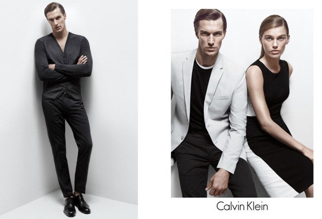 CAMPAIGN- Madison Headrick & Shaun DeWet for Calvin Klein White Label Spring 2013 by Daniel Jackson. www.imageamplified.com, Image Amplified (5)