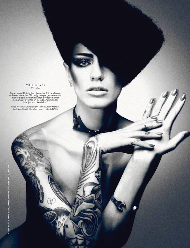 ELLE MEXICO- My Body Is My Journal, My Tattoos Are My Story by Takahiro Ogawa. Nick Nelson, February 2013, www.imageamplified. com, Image Amplified (2)