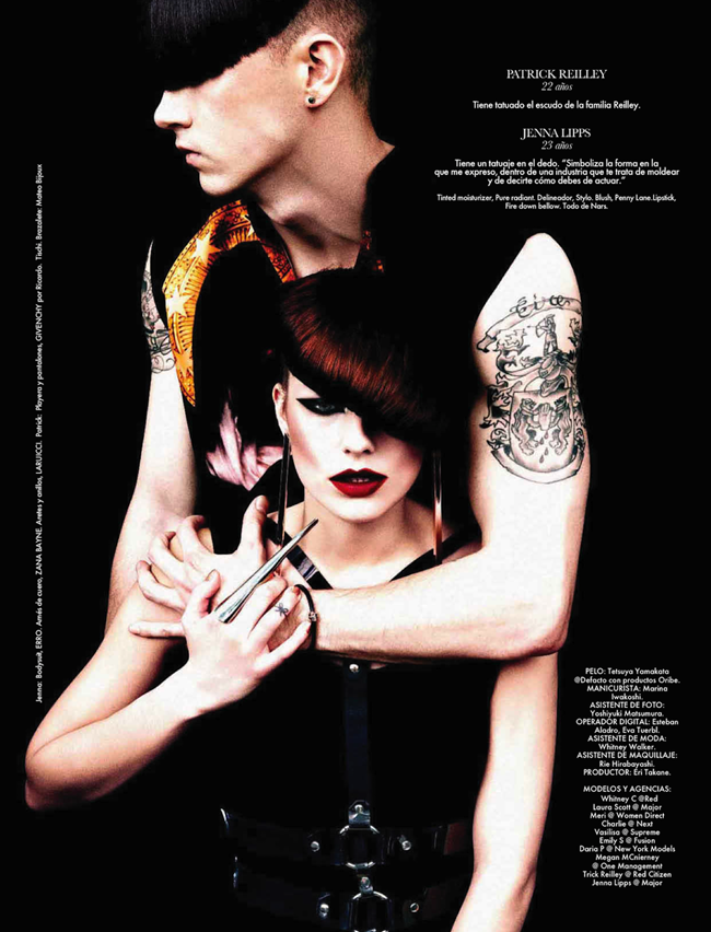 ELLE MEXICO- My Body Is My Journal, My Tattoos Are My Story by Takahiro Ogawa. Nick Nelson, February 2013, www.imageamplified. com, Image Amplified (10)
