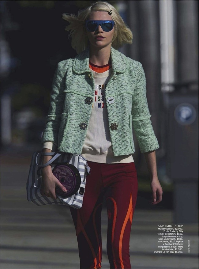 VOGUE AUSTRALIA- Aline Weber in Word on the Street by Hans Feurer. Heathermary Jackson, March 2013, www.imageamplified.com, Image Amplified (2)