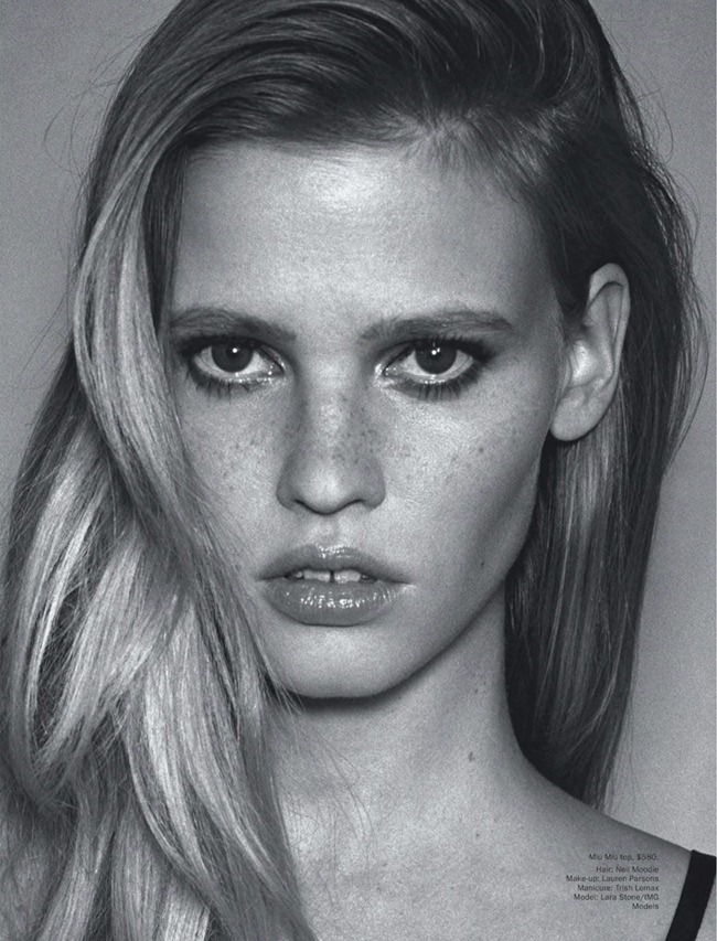 VOGUE AUSTRALIA- Lara Stone in Ahead of the Curbe by Angelo Pennetta. Christine Centenera, March 2013, www.imageamplified.com, Image Amplified (6)