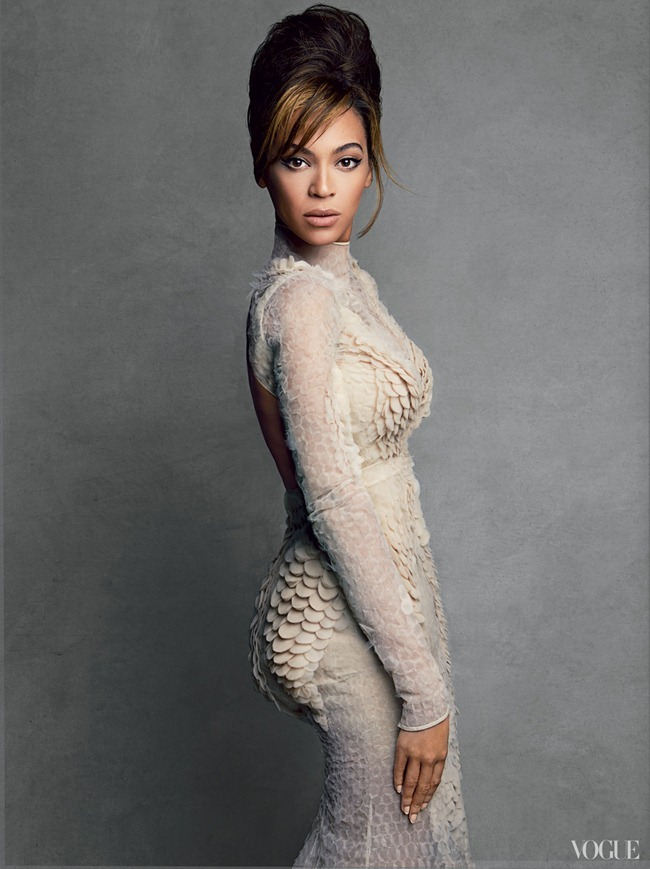 VOGUE MAGAZINE- Beyonce in Queen B by Patrick Demarchelier. Camilla Nickerson, March 2013, www.imageamplified.com, image Amplified (2)