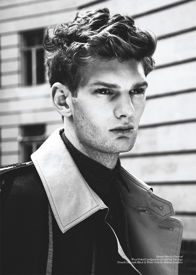 CLIENT MAGAZINE- Matt King & Frankie Wade by Ian Cole. Ines Fravessi, www.imageamplified.com, Image Amplified