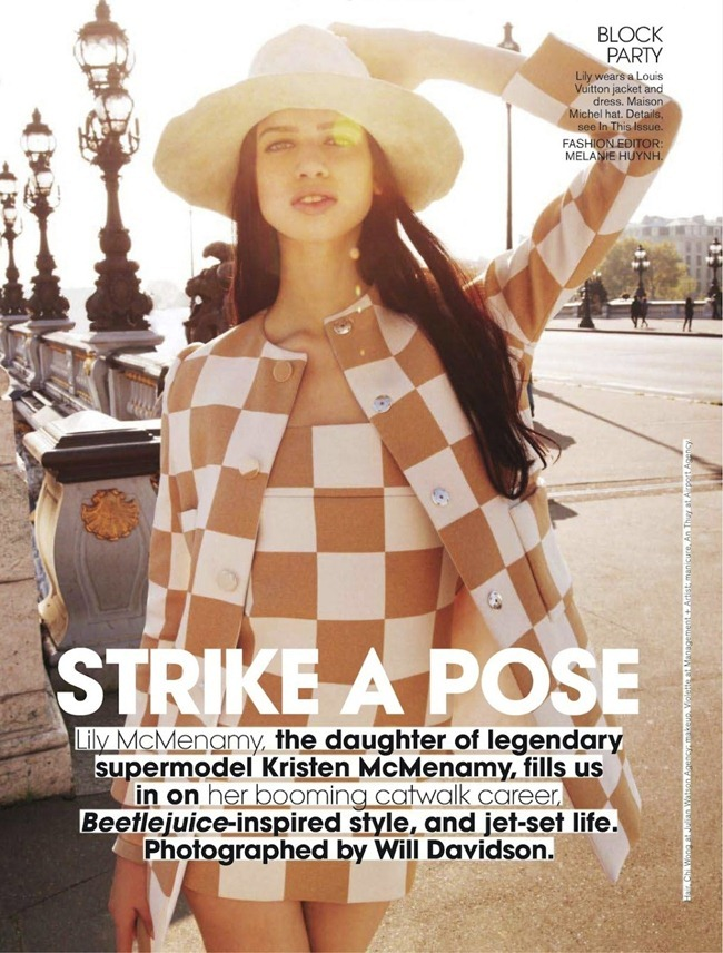 TEEN VOGUE- Lily McMenamy in Strike A Pose by Will Davidson. Melanie Huynh, March 2013, www.imageamplified.com, Image Amplified