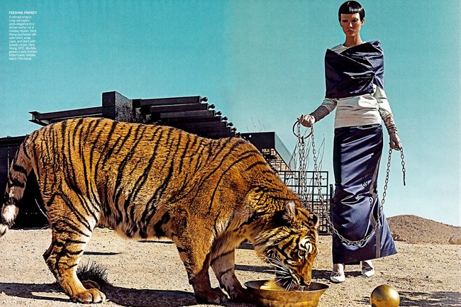 VOGUE MAGAZINE- Karlie Kloss in On The Prowl by Steven Klein. Camilla Nickerson, March 2013, www.imageamplified.com, IMage Amplified (4)