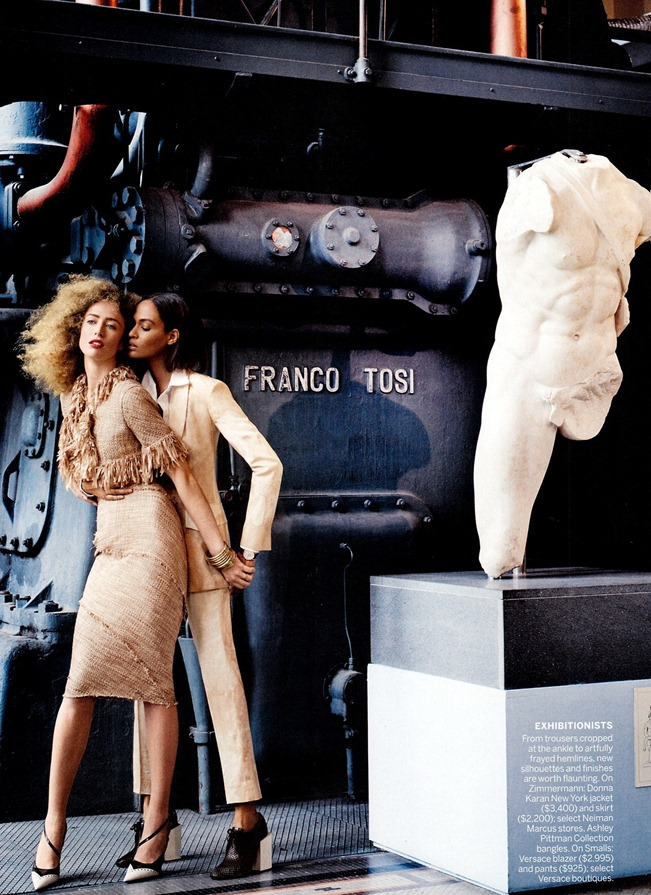 VOGUE MAGAZINE- Raquel Zimmermann & Joan Smalls in To Rome With Love by Mario Testino. Tonne Goodman, March 2013, www.imageamplified.com, Image Amplified (7)