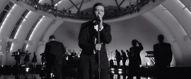 "SOUND CAFFEINE: Justin Timberlake, ""Suit & Tie"" Music Video ft. JAY-Z. Image Amplified.com"