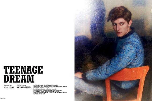 10 MEN MAGAZINE- Chris Beek & Rutger Schoone in Teenage Dream by Serge Leblon. Mattias Karlsson, Spring 2013, www.imageamplified.com, Image Amplified