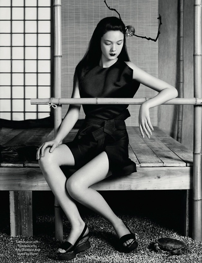ANOTHER MAGAZINE- Yumi Lambert by Ben Toms. Robbie Spencer, Spring 2013, www.imageamplified.com, Image Amplified (10)