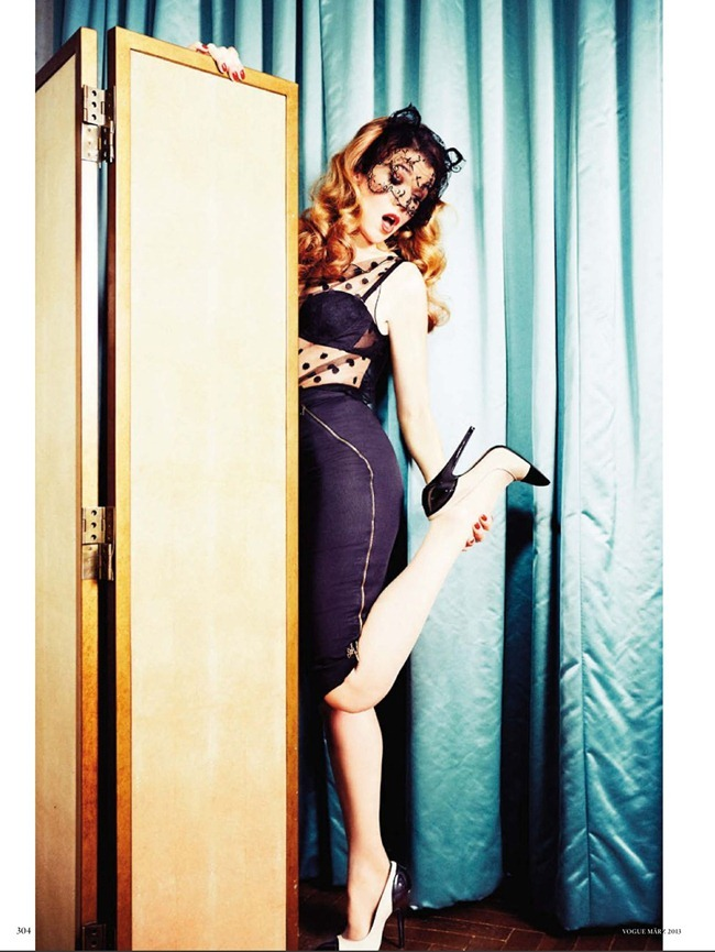 VOGUE GERMANY- Anke Engelke in Anke Unchained by Ellen von Unwerth. Christiane Arp, March 2013, www.imageamplified.com, Image Amplified (4)
