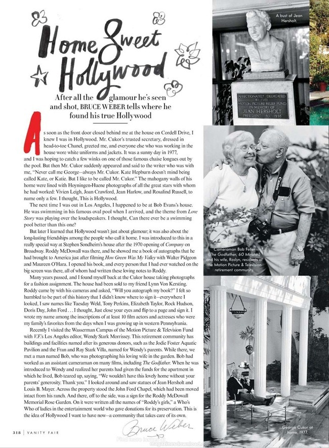 VANITY FAIR MAGAZINE- Bruce Weber's Adventures in Hollywood by Bruce Weber. March 2013, www.imageamplified.com, Image Amplified (7)