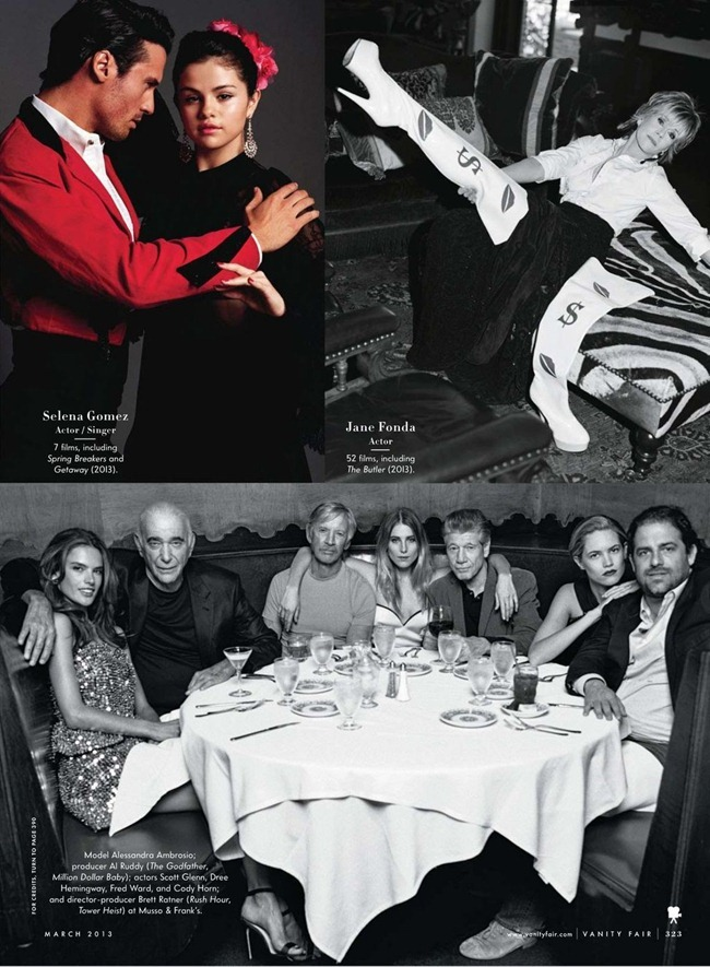 VANITY FAIR MAGAZINE- Bruce Weber's Adventures in Hollywood by Bruce Weber. March 2013, www.imageamplified.com, Image Amplified (16)