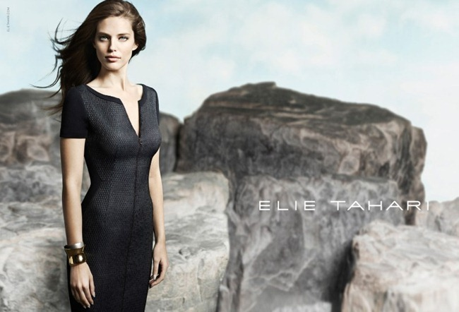 CAMPAIGN- Emily Didonato for Elie Tahari Spring 2013 by Diego Uchitel. www.imageamplified.com, Image Amplified