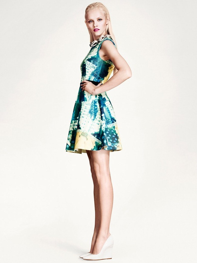 LOOKBOOK- Ginta Lapina for H&M's Modern Retro Spring 2013 by Andrew Yee. www.imageamplified.com, Image Amplified (1)
