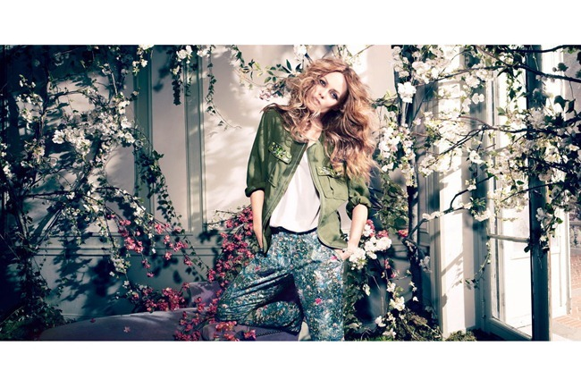 CAMPAIGN- Vanessa Paradis for H&M Concious Collection Spring 2013 by Camilla Akrans. www.imageamplified.com, Image Amplified (6)