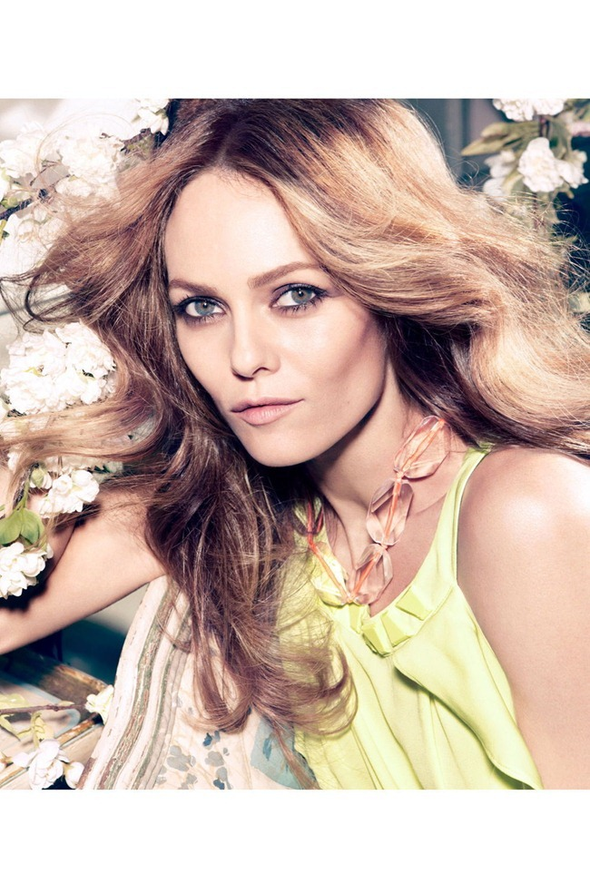 CAMPAIGN- Vanessa Paradis for H&M Concious Collection Spring 2013 by Camilla Akrans. www.imageamplified.com, Image Amplified (10)