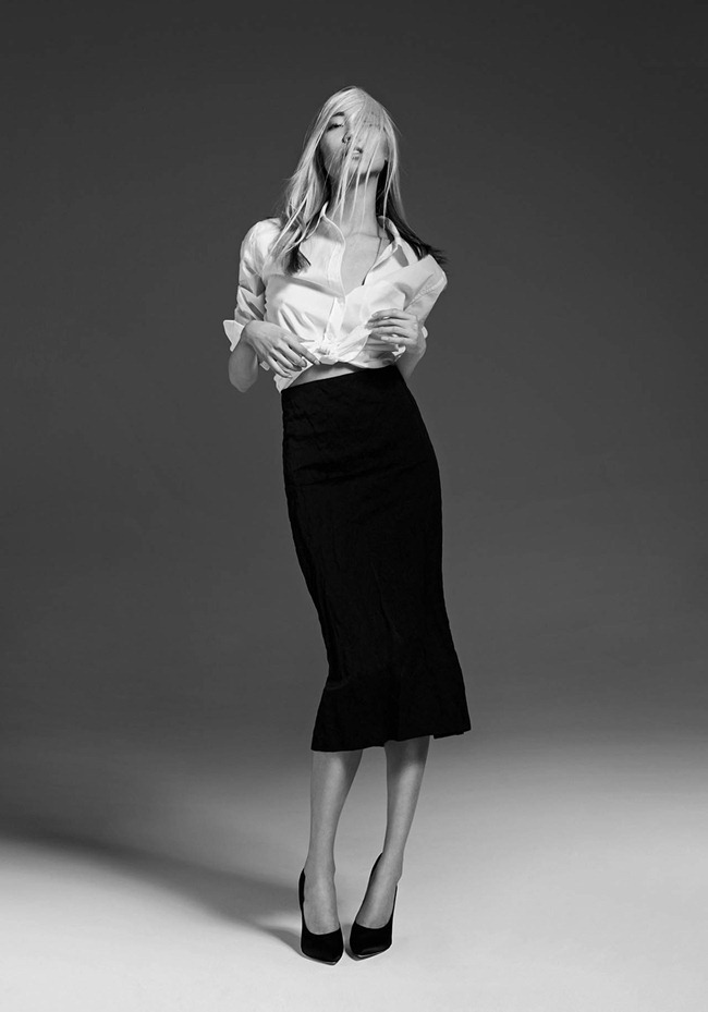 CR FASHION BOOK- Soo Joo in 1 Girl, 1 Shirt, 7 Looks by Max von Gumppenberg & Patrick Bienert. Carine Roitfeld, Spring 2013, www.imageamplified.com, Image Amplified