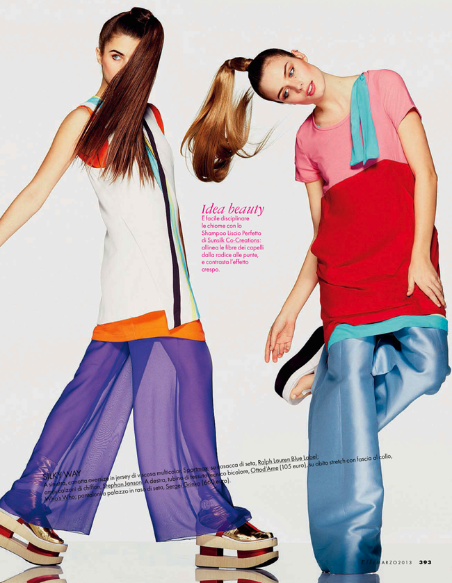 ELLE ITALY- Abi Fox & Angelina Nawojczyk in In Full Color by Alexei Hay. Alberto Zanoletti, March 2013, www.imageamplified.com, Image Amplified (8)