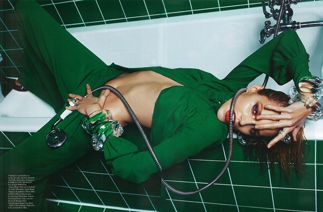 VOGUE PARIS- Anja Rubik in Do Not Disturb by Mario Sorrenti. Marie Chaix, March 2013, www.imageamplified.com, Image Amplified (9)