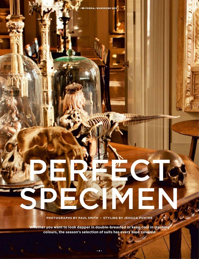 GQ UK- Perfect Specimen by Paul Smith. Jessica Punter, Spring 2013, www.imageamplified.com, Image Amplified (6)