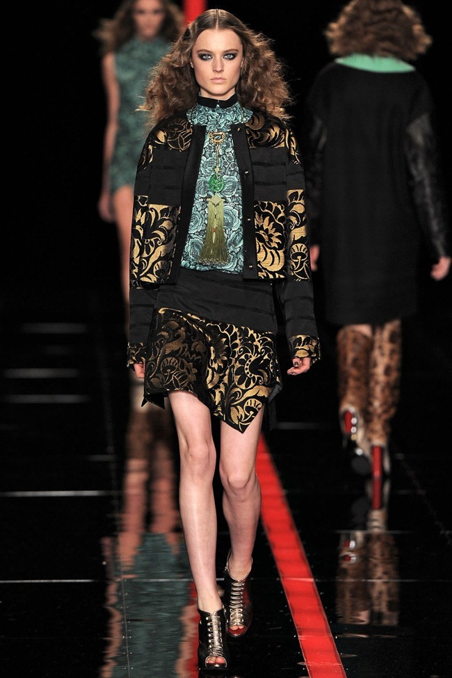 MILAN FASHION WEEK- Just Cavalli Fall 2013. www.imageamplified.com, Image Amplified (16)