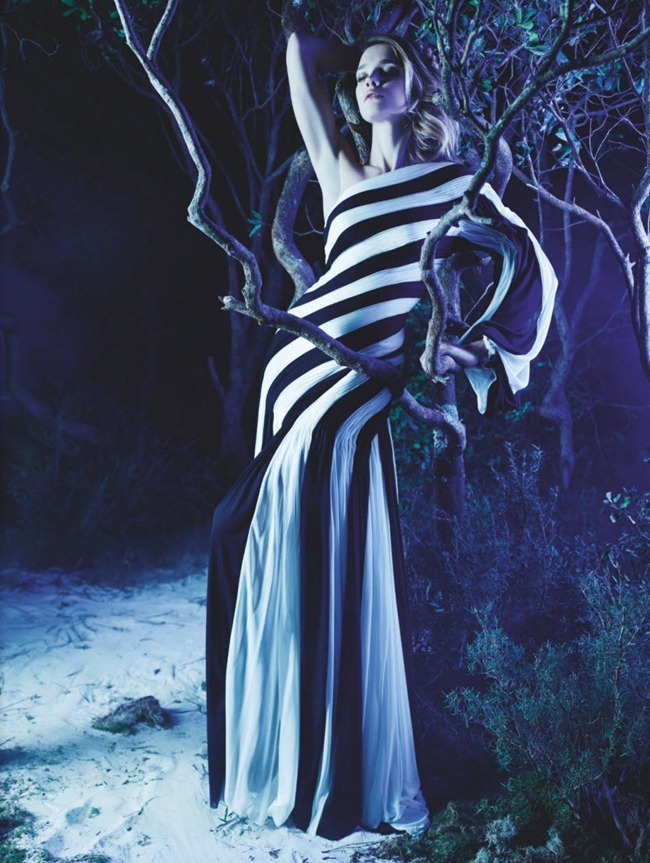 NUMERO MAGAZINE- Natalia Vodianova in La Couture Enchantee by Karl Lagerfeld. Vanessa Metz, March 2013, www.imageamplified.com, Image Amplified (13)
